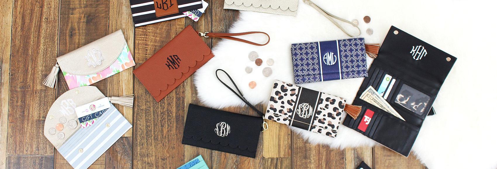 Monogrammed Wallets