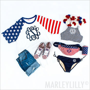 Fourth of July Apparel, Accessories and Gifts
