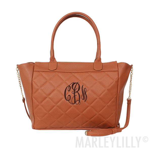 Monogrammed Quilted Purse | Marleylilly : quilted purses and handbags - Adamdwight.com