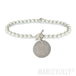 Monogrammed Jewelry | Custom Initial Necklaces | Marleylilly