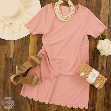 Meant To Be Dress in Blush