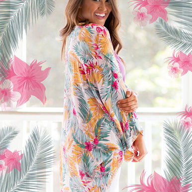 Destination Tropical Kimono